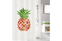 Kleine Wolke Duschvorhang Pineapple, Multicolor 180x200 cm