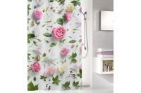 Kleine Wolke Duschvorhang Rosalie, Multicolor 180 x 200 cm (Breite x Höhe)