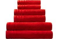 Kleine Wolke Handtuch/ Duschtuch Royal, Mohnrot