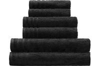 Kleine Wolke Handtuch/Duschtuch Royal, Schwarz