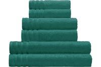 Kleine Wolke Handtuch Royal, Smaragd