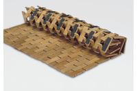 Kleine Wolke Bambus-Badteppich Palito Natur 50x 70 cm Holzmatte