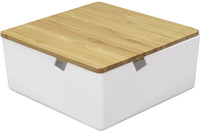 Kleine Wolke Kosmetikbox Timber Box weiß S