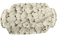 Kleine Wolke Nackenpolster Stepstone, Natur 32x 22 cm