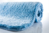 Kleine Wolke Badteppich, Relax, Azur, rutschhemmender Rücken, Öko-Tex zertifiziert