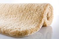 Kleine Wolke Badteppich Relax Champagner rutschhemmender Rücken Öko-Tex zertifiziert