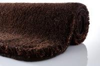 Kleine Wolke Badteppich, Relax, Nussbraun, rutschhemmender Rücken, Öko-Tex zertifiziert