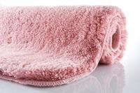 Kleine Wolke Badteppich, Relax, Pastellrose, rutschhemmender Rücken, Öko-Tex zertifiziert