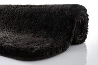Kleine Wolke Badteppich Relax Schwarz rutschhemmender Rücken Öko-Tex zertifiziert