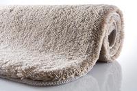 Kleine Wolke Badteppich, Relax, Taupe, rutschhemmender Rücken, Öko-Tex zertifiziert