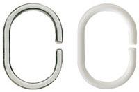 Kleine Wolke Ringe DV-Ringe, glasklar 12 Stück/ Packung