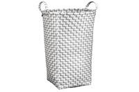 Kleine Wolke Wäschebox Double Laundry, Platin 35x50x35 cm