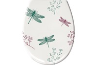 Kleine Wolke WC-Sitz Scarlett, Smaragd 37x 45 cm