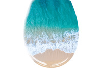 Kleine Wolke WC-Sitz Waikiki Multicolor 37x 45 cm