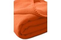 "Kneer Pique-Decke La Diva Maison ""Qualität 91"", Farbe 65 orange"