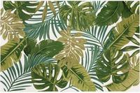 Luxor Living Teppich Kubana, weiß-grün