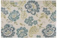 Luxor Living Teppich Lost Garden, beige blau