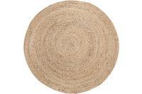Luxor Living Teppich Mamda, creme beige 120 rund