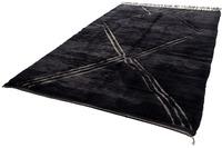 Tuaroc Teppich Beni Ourain #RR890 #RR890 black 210 x 326 cm