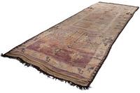 Tuaroc Beni Ourain Nomadenteppich Antique 166 cm x 469 cm