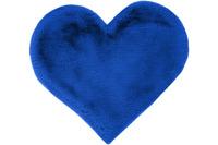 me gusta Kinderteppich Lovely Kids 1225-Heart Blau 60 x 70 cm