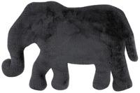 me gusta Kinderteppich Lovely Kids 125-Elephant Anthrazit 60 x 90 cm