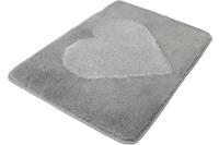Meusch Badteppich Heart, Nebel