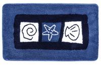 Meusch Badteppich Sylt Marineblau