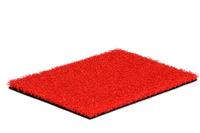 Natürlich Kunstrasen Kunstrasen Life 24 Rot