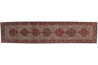Oriental Collection Bidjar Teppich, reine Wolle, handgeknüpft, 90 x 405 cm