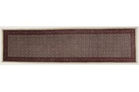 Oriental Collection Teppich Bidjar, handgeknüpft, reine Schurwolle, 100 x 392 cm