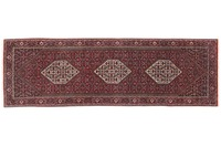 Oriental Collection Bidjar mit Seidenanteil 70 cm x 230 cm