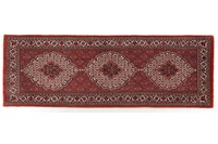 Oriental Collection Bidjar mit Seidenanteil 74 cm x 217 cm