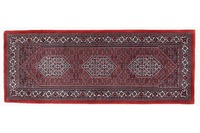 Oriental Collection Bidjar mit Seidenanteil 75 cm x 197 cm