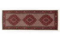 Oriental Collection Bidjar mit Seidenanteil 77 cm x 215 cm