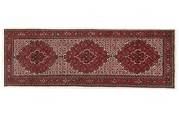 Oriental Collection Bidjar mit Seidenanteil 77 cm x 220 cm