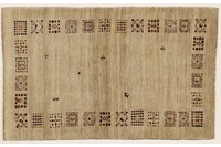 Oriental Collection Gabbeh-Teppich 107 x 165 cm beige