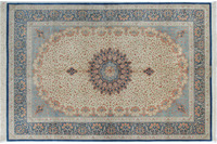 Oriental Collection Ghom-Seiden-Teppiche 135 x 200 cm