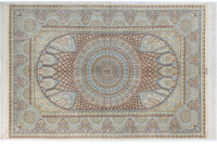Oriental Collection Ghom-Seiden-Teppiche 135 x 204 cm