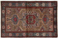 Oriental Collection Hamadan Teppich Khamseh 130 x 212 cm