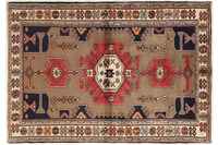 Oriental Collection Hamadan Teppich Khamseh 135 x 195 cm