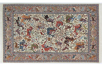 Oriental Collection Ilam-Teppich auf Seide 140 x 223 cm