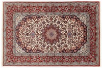 Oriental Collection Isfahan Teppich auf Seide 157 cm x 245 cm