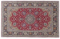 Oriental Collection Isfahan Teppich auf Seide 210 cm x 328 cm