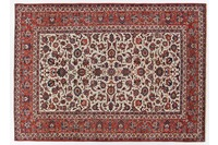 Oriental Collection Isfahan Teppich auf Seide 220 cm x 307 cm