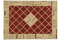 Oriental Collection Kelim Patchwork, 151 x 208 cm, handgewebt