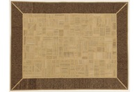 Oriental Collection Kelim Patchwork, 151 x 200 cm, handgewebt