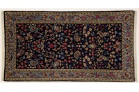 Oriental Collection Kerman Teppich, Perser, handgefertigt, 70 x 127 cm