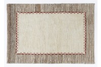Oriental Collection Gabbeh-Teppich Loribaft 100 cm x 148 cm schlichte Optik