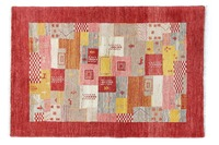 Oriental Collection Gabbeh-Teppich Loribaft 100 cm x 150 cm (mehrfarbig)